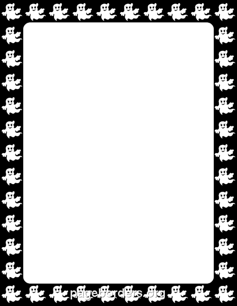 Free halloween borders clip art page and vector graphics 6
