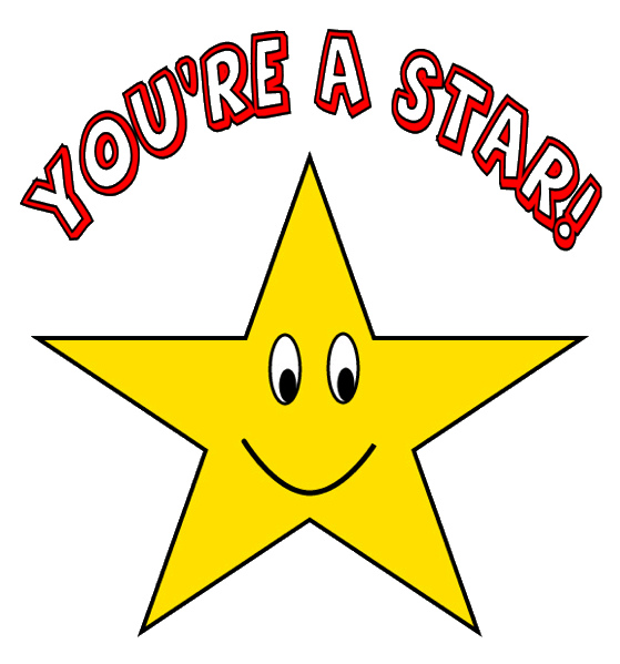 Gold star good job clipart clipartfest
