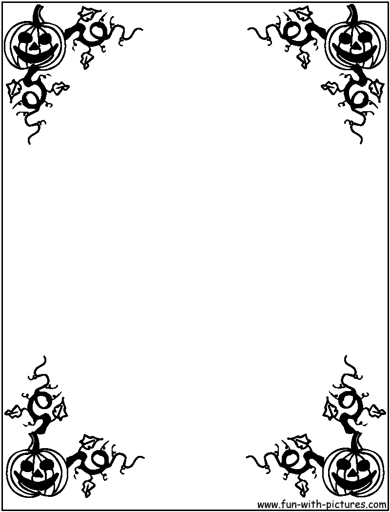 Halloween border bat page border free downloads at pageborders org download clip art