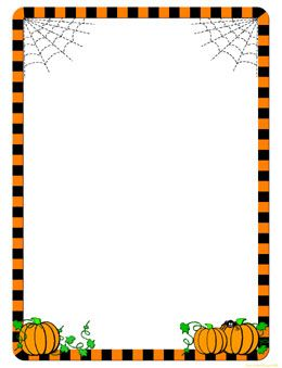 Halloween border free halloween clip art borders and frames bing images