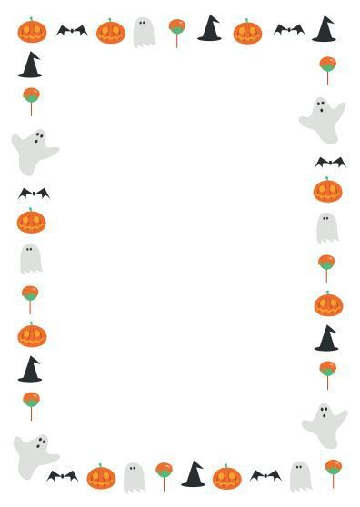 Halloween border templates free halloween border cliparts 2