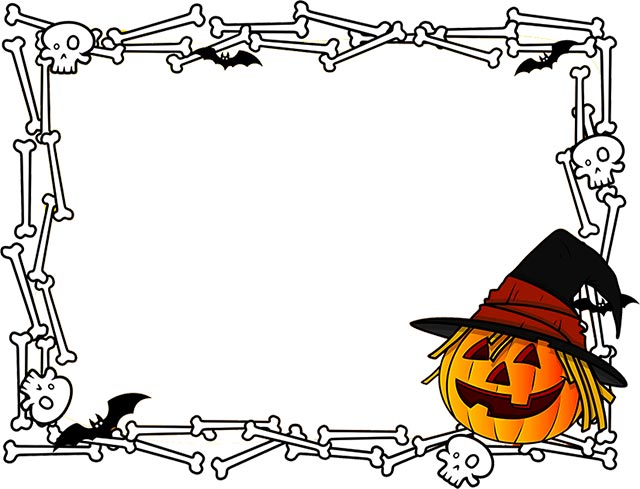Halloween borders free happy border clip art 2
