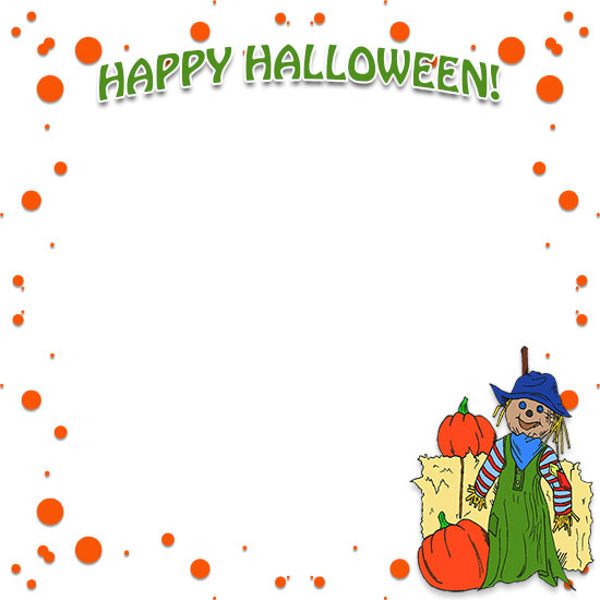 Halloween borders free happy border clip art 4