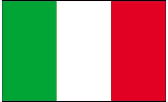 Italian flag italy of flags clip art