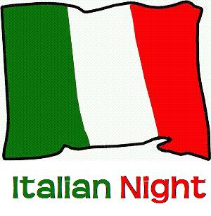 Italian night clipart clipartfest 2