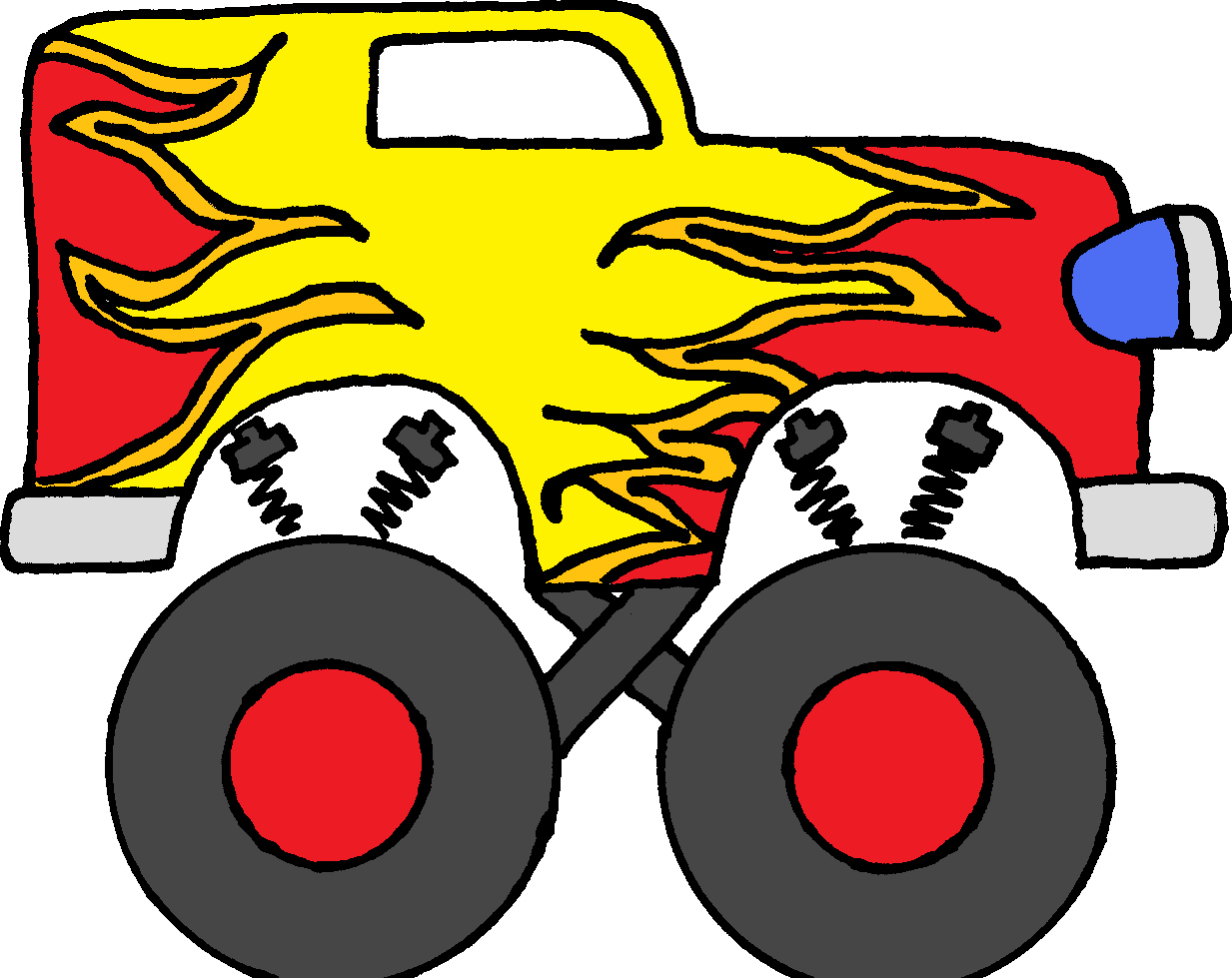 Monster truck clip art pictures free clipart images 8