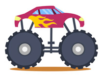Monster truck free truck clipart clip art pictures graphics
