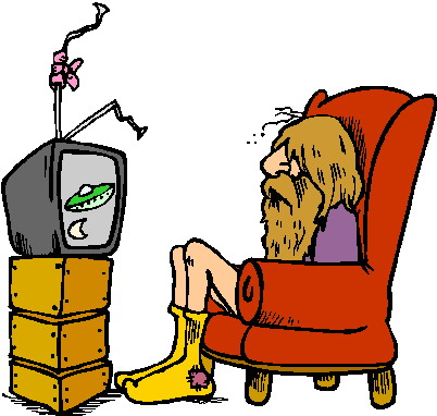 Television clip art 9