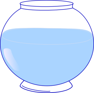 Fish bowl clip art clipartfest