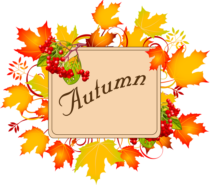 Free fall autumn borders clipart 2