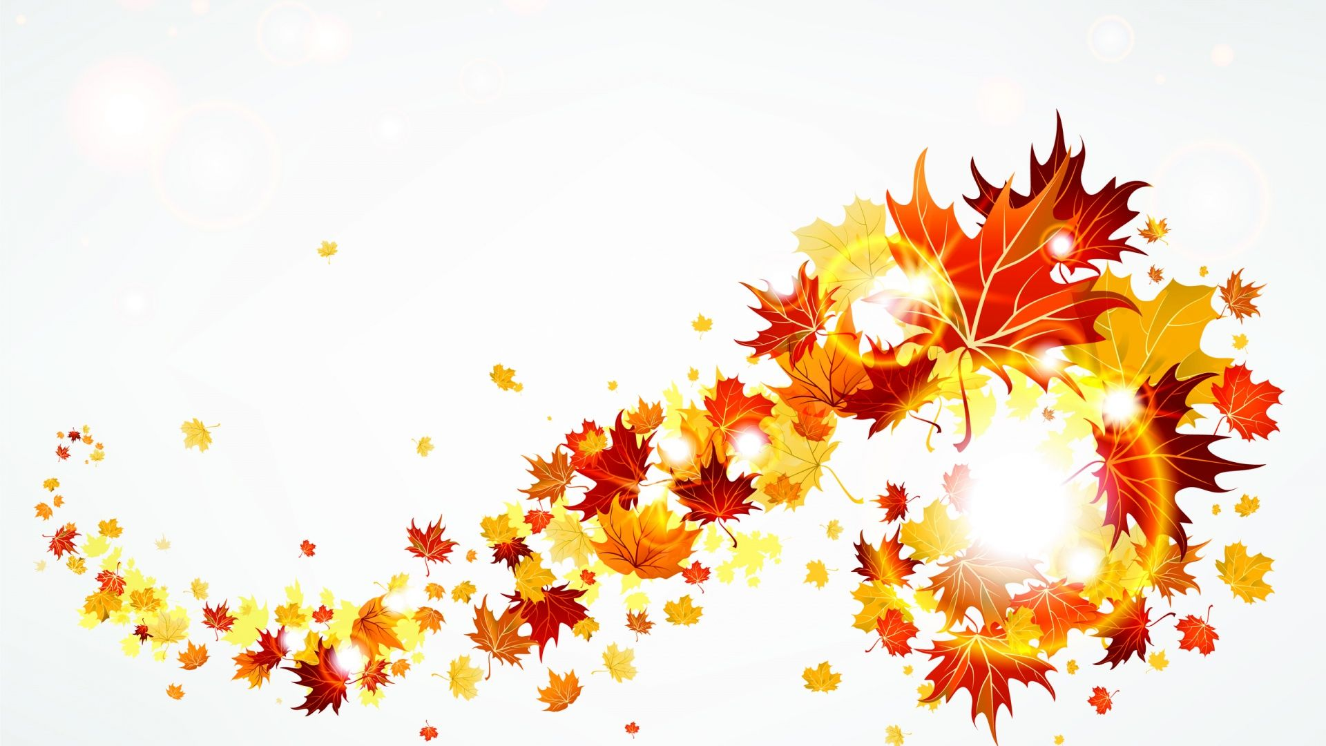 Free fall leaves clip art clipartfest