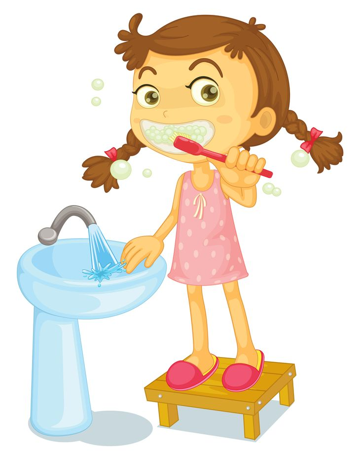 Brush Teeth Clipart