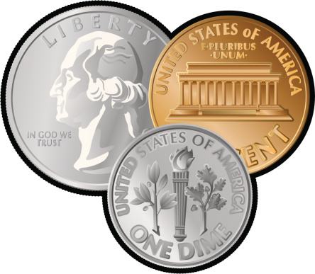 Us coins clipart clipartfest and