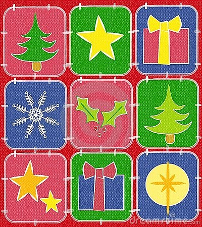 Vector and christmas quilt clipart favorite