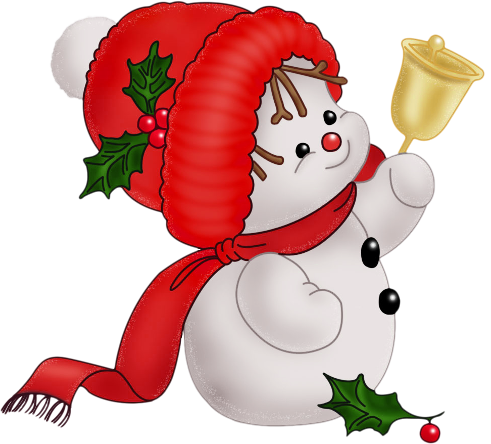 Christmas snowman clip art free clipart holidays and