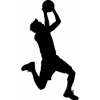 Clipart basketball player