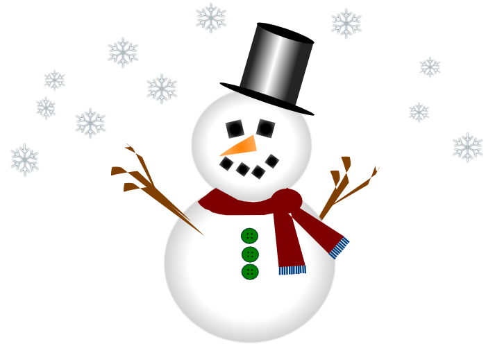 Cute snowman graphics and animations clipart