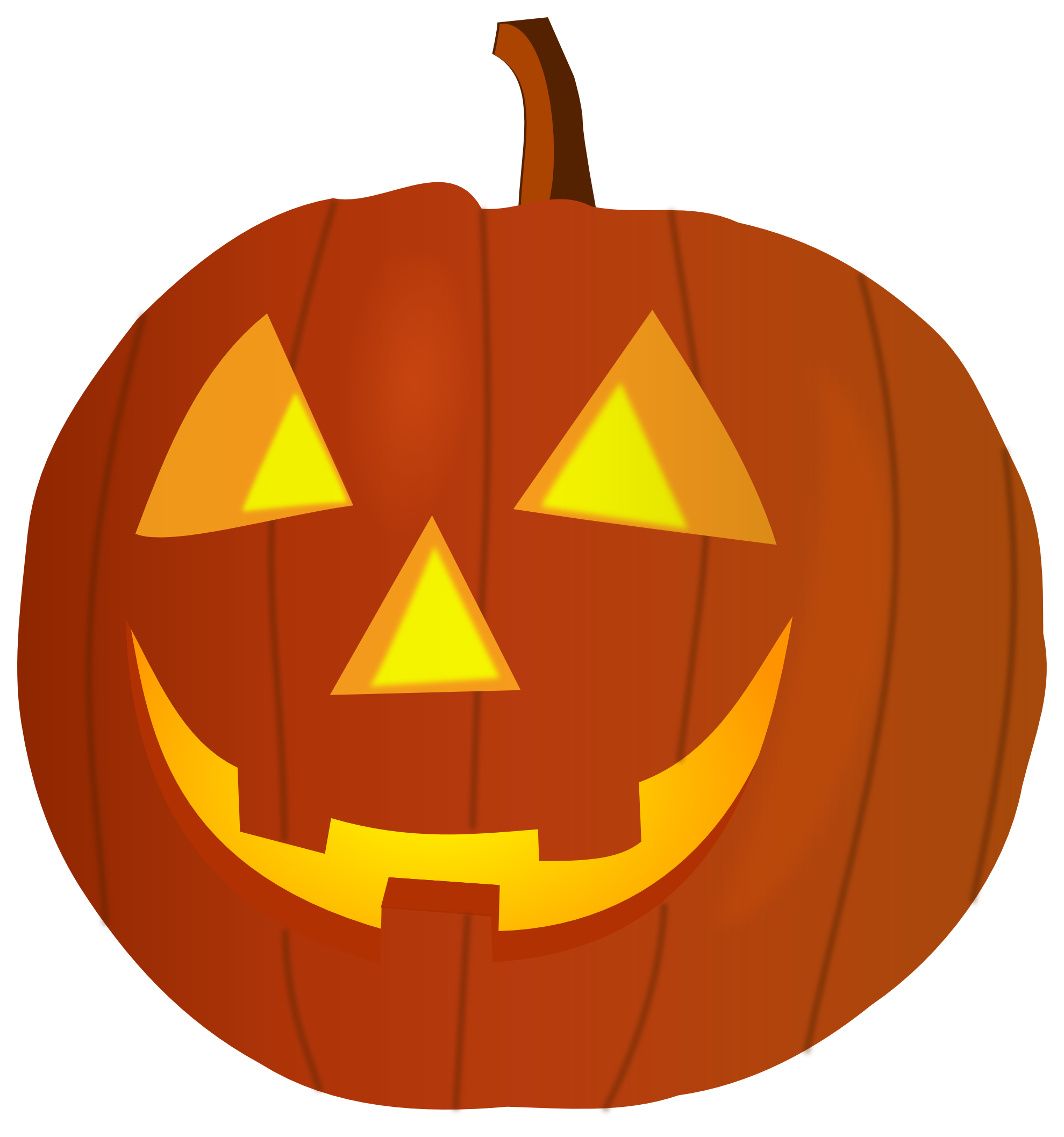 Happy halloween pumpkin clipart free images