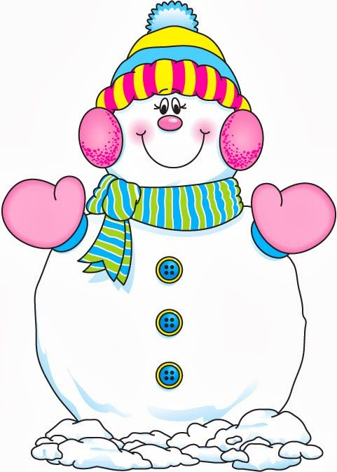 Images about snowman on clipart
