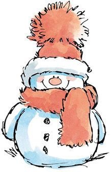Snowman clipart ideas on snowmen
