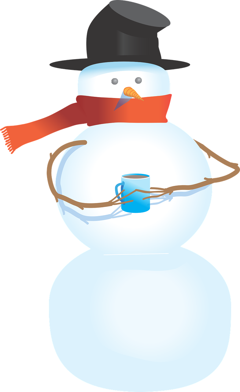 Snowman free to use clipart 3