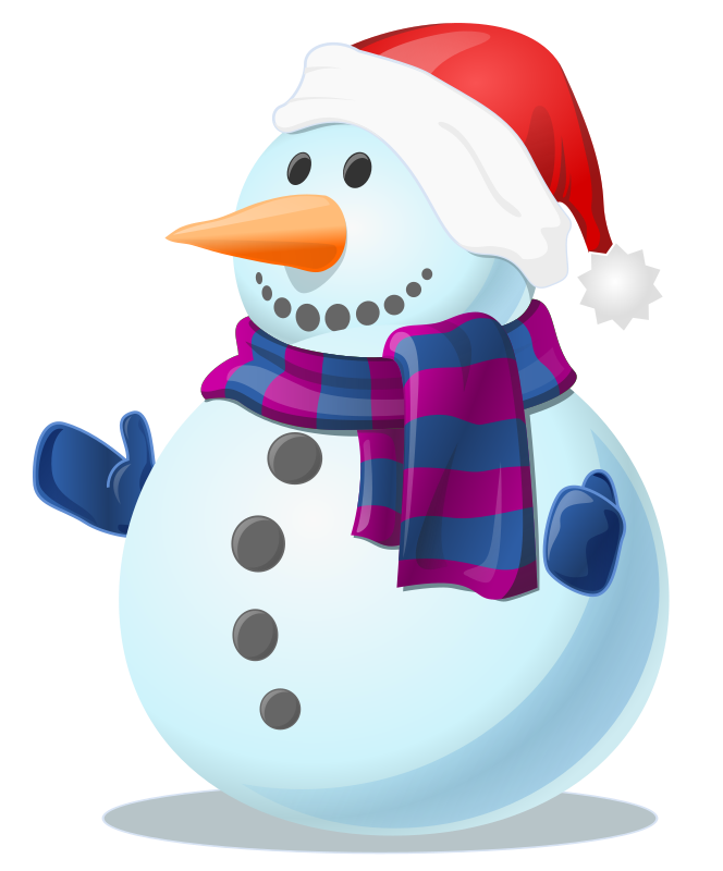 Snowman free to use cliparts 2