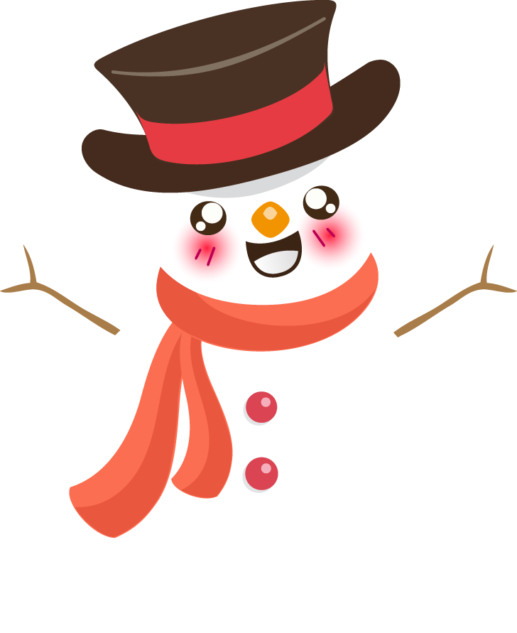 Snowman free to use cliparts 4