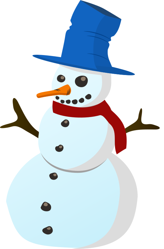 Snowman free to use cliparts