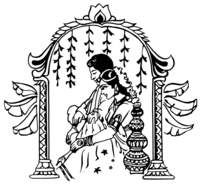 Wedding symbols hindu clipart indian 2