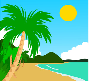 Beach clipart free images 4