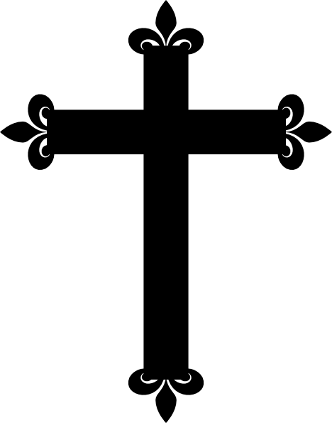 Catholic firstmunion cross clip art free 4