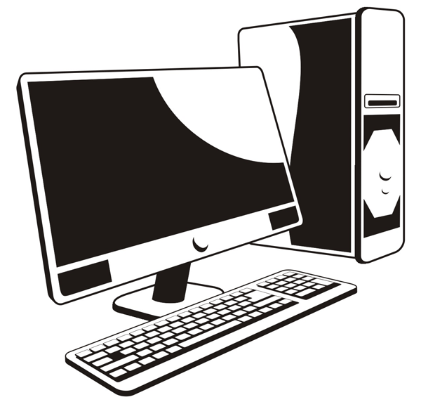 Computer clip art free clipart images 2