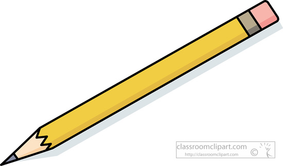 Pencil clip art at vector image 1