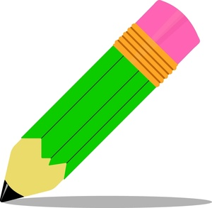 Vertical pencil clipart free images