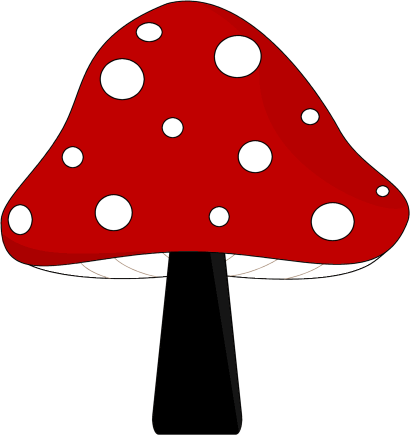 Art mushroom clip art clipart cliparts for you image