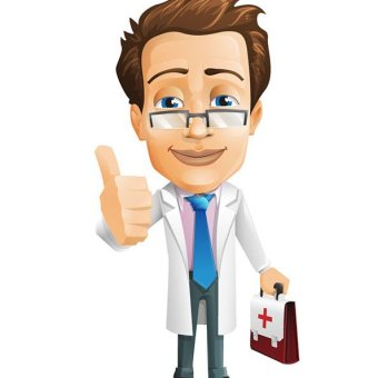 Doctor clip art vectors download free vector