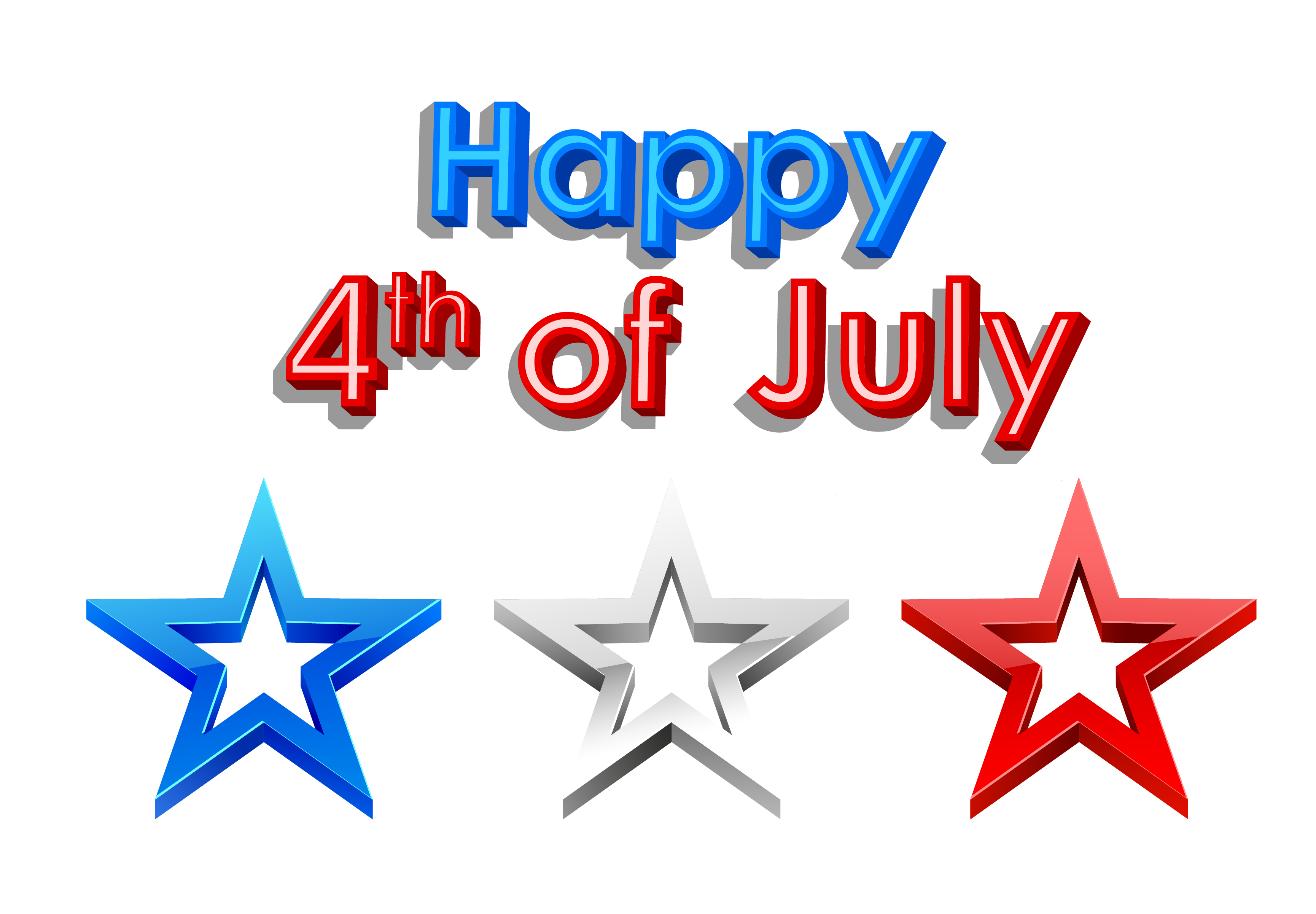 Fourth of july 4th of july fireworks clipart free