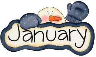 Free january clipart