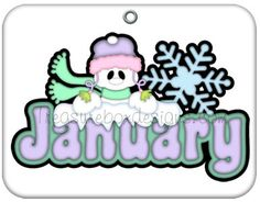 Free month clip art of january snowman image 3