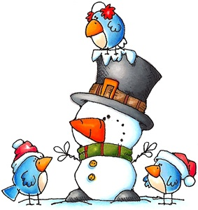 January winter clipart ideas on christmas