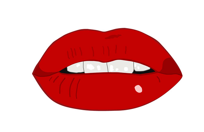 Mouth realistic clipart