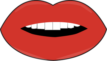 Smiling mouth clipart the image 8