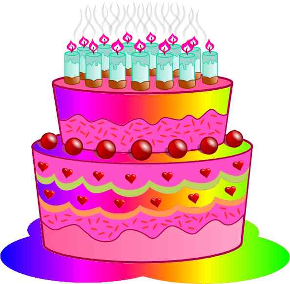Birthday cake clip art birthday pictures