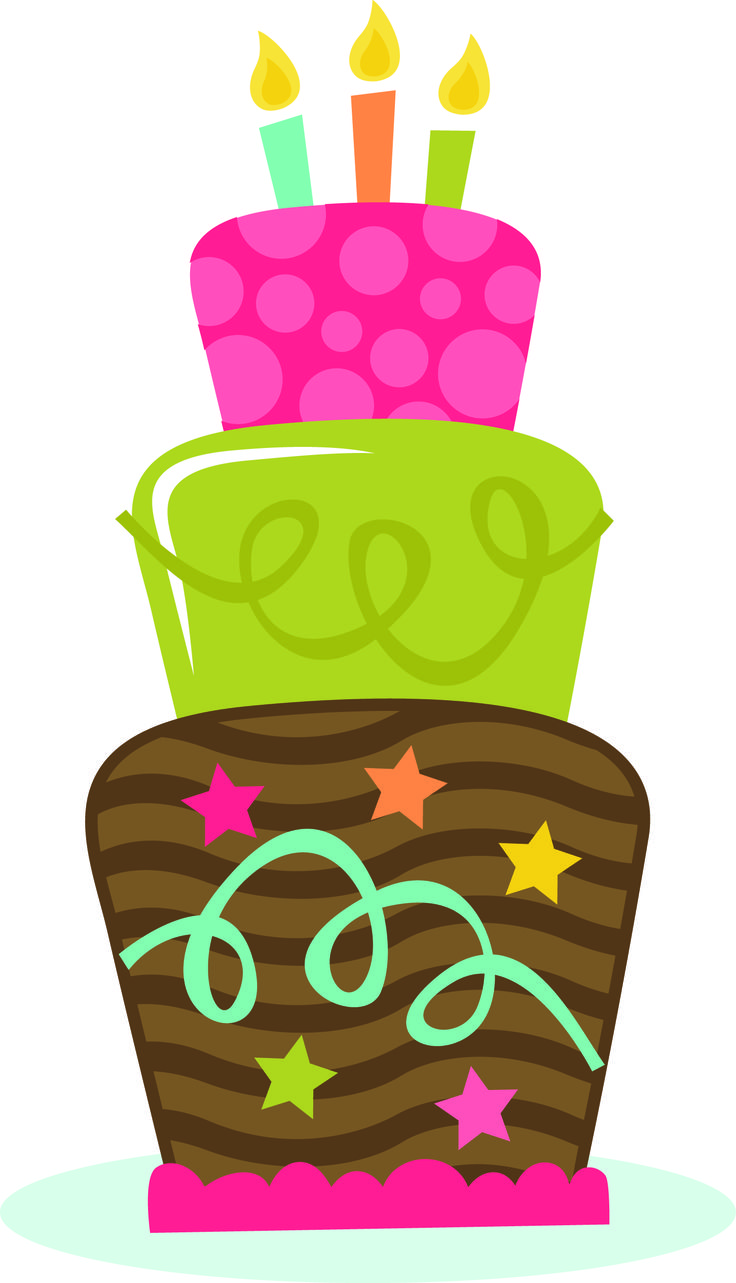 Birthday cake clipart birthday images on