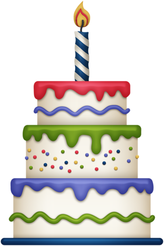 Cute birthday cake clipart gallery free picture cakes 3