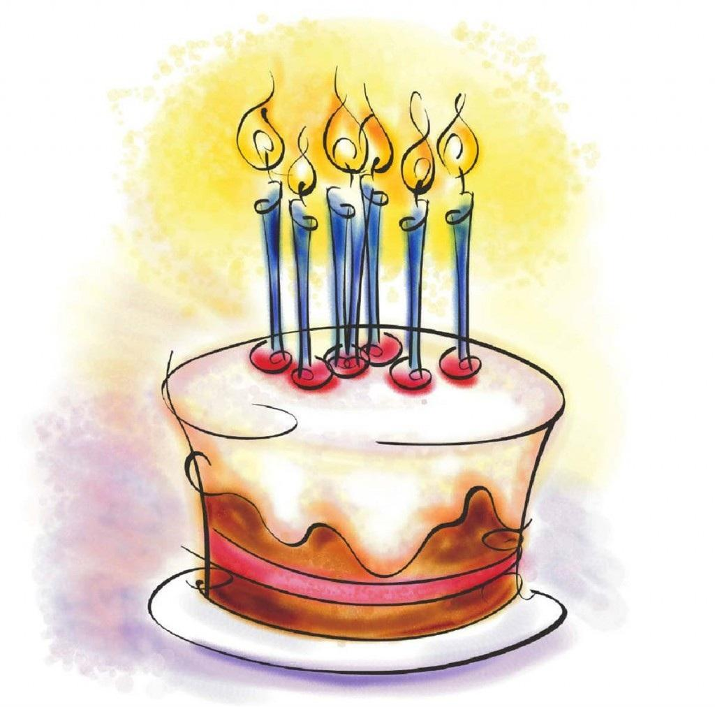 Cute birthday cake clipart gallery free picture cakes 7