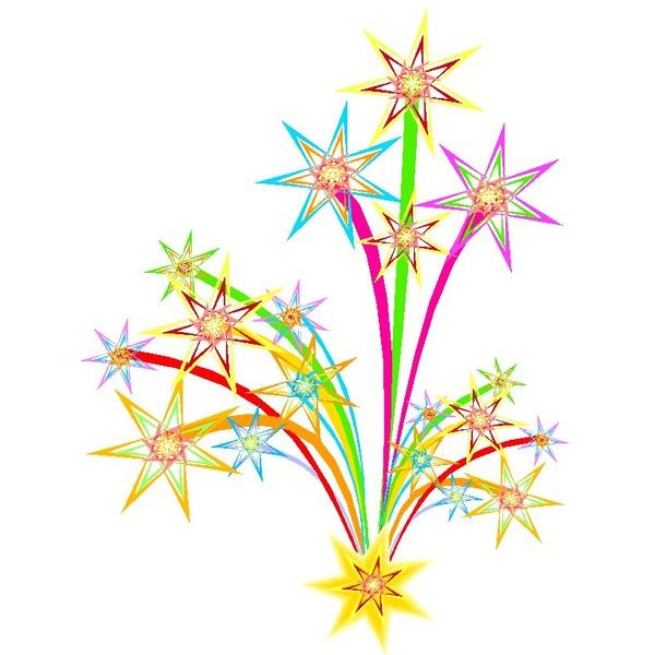 Fireworks clipart ideas that you will like on 4