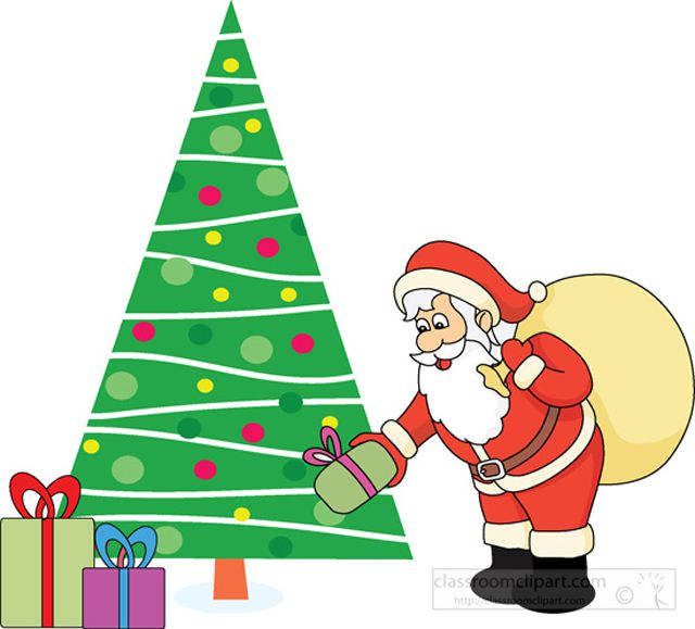 Free santa clipart for all your holiday projects 2