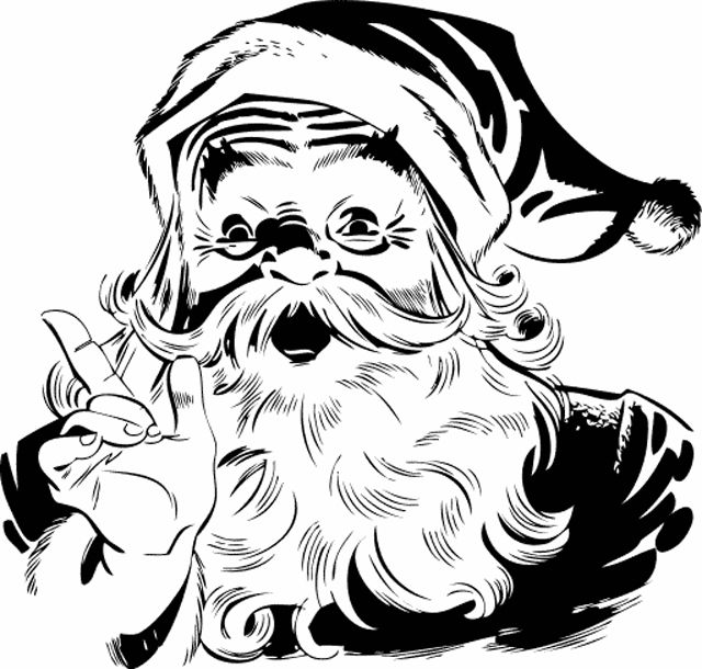 Free santa clipart for all your holiday projects