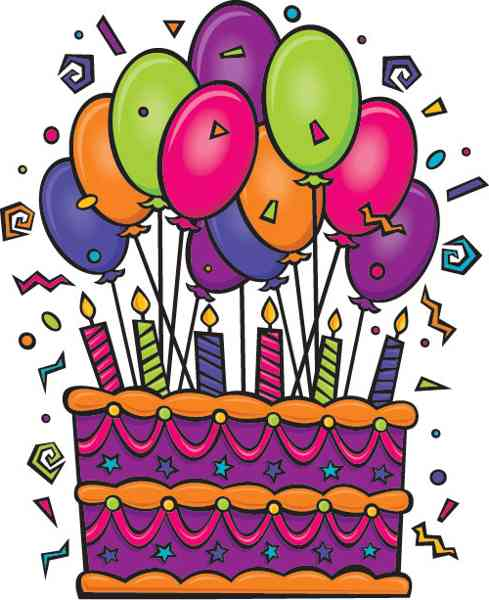Happy birthday cake clipart free vector for download about 1